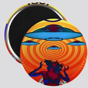 UFO Party People Magnet