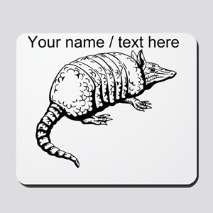 Custom Armadillo Sketch Mousepad