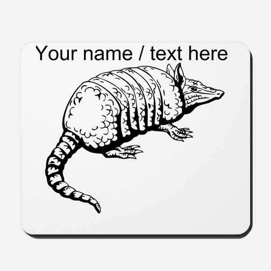 Custom Armadillo Sketch Mousepad