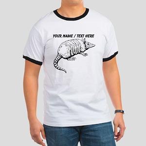 Custom Armadillo Sketch T-Shirt