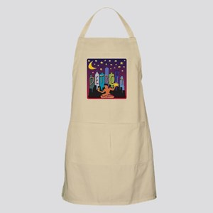 Detroit Skyline Mega Color Apron