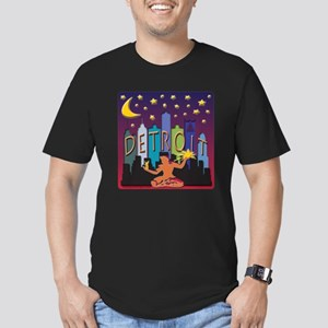 Detroit Skyline Mega Color T-Shirt