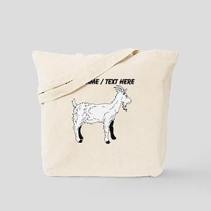 Custom Goat Sketch Tote Bag