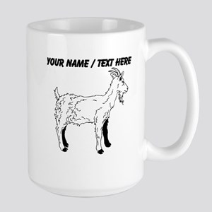 Custom Goat Sketch Mug