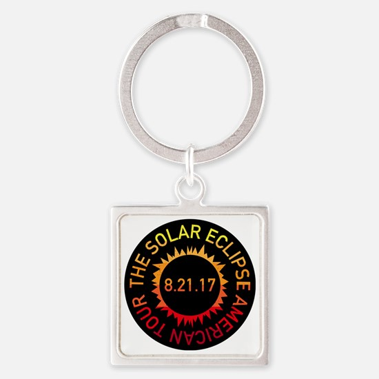Unique Bands of america Square Keychain