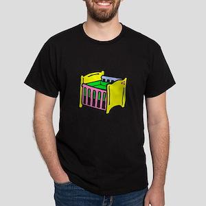 baby crib colorful graphic T-Shirt