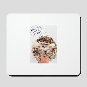 Angry Hedgehog Mousepad