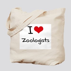 I love Zoologists Tote Bag