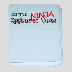 Job Ninja RN baby blanket