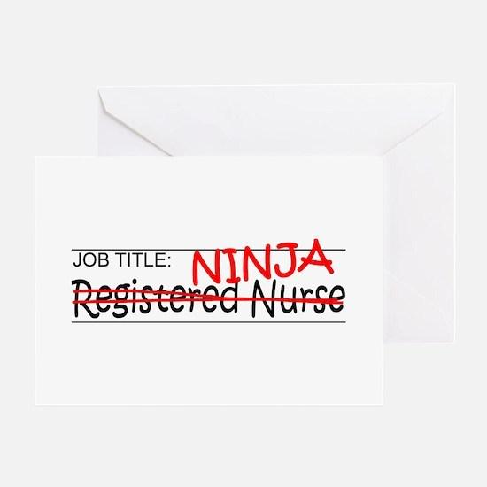 Job Ninja RN Greeting Card