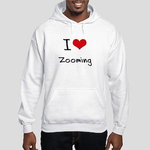 I love Zooming Hoodie