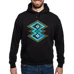 Hipster Navajo Geometric Native Indian Galaxy Hood