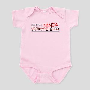 Job Ninja Software Engineer Infant Bodysuit