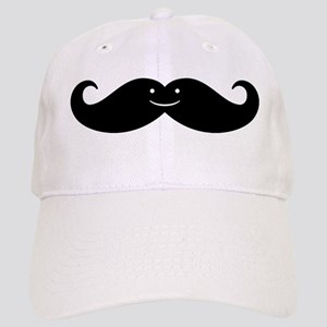 Kissing Whales Or Mustache? Baseball Cap