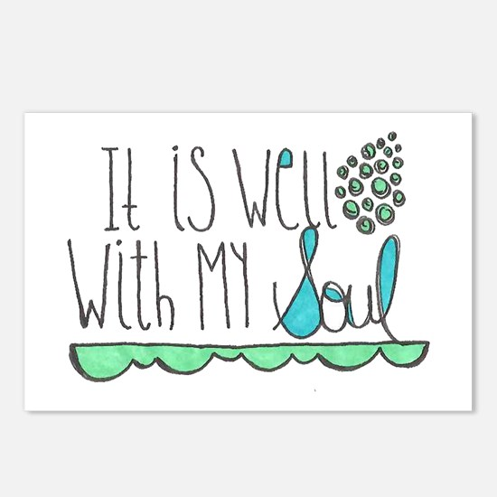 It Is Well with My Soul Postcards (Package of 8)