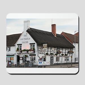 Old Thatch Tavern, Stratford, England, UK Mousepad