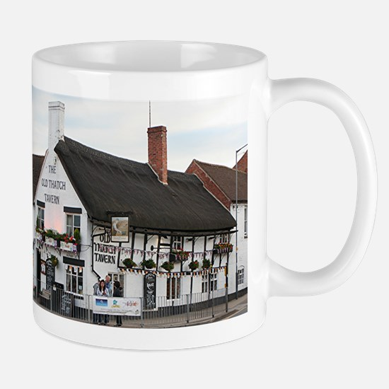 Old Thatch Tavern, Stratford, England, UK Mug