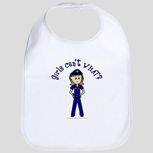 Light Police Woman Bib