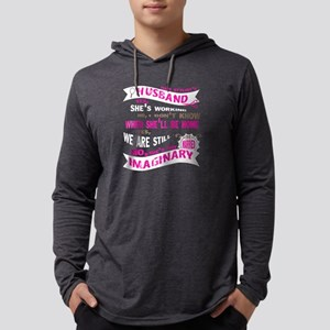 Hair Stylist's Husband Yes, When Mens Hooded Shirt