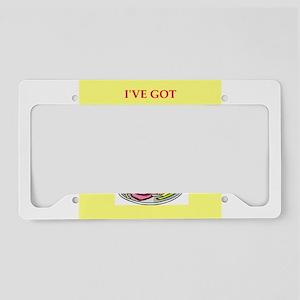 venison License Plate Holder