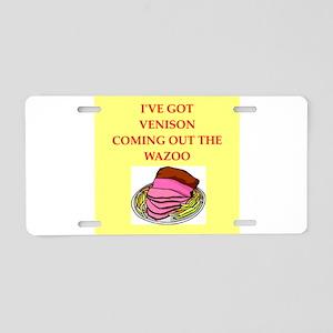 venison Aluminum License Plate