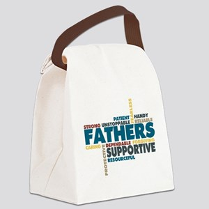 Fathers Canvas Lunch Bag
