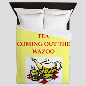 tea Queen Duvet