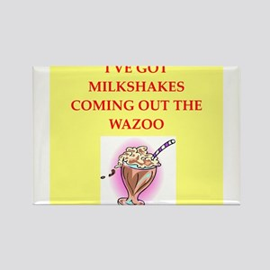 milkshakes Rectangle Magnet