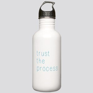 Trust The Process Water Bottle