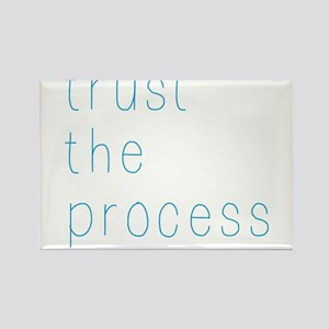 Trust The Process Rectangle Magnet