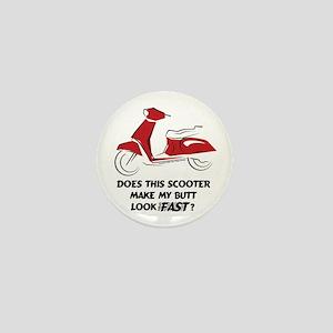 Fast Butt (Red) Mini Button