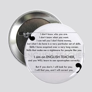 """I Will Find You - Apostrophes 2.25"""" Button"""
