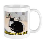 Whiskers The Cat Sink Sitter Mug