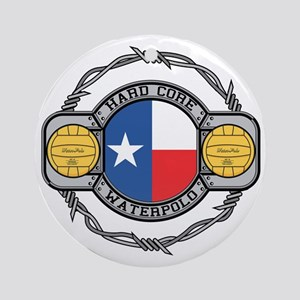 Texas Water Polo Ornament (Round)