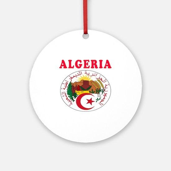Algeria Coat Of Arms Designs Ornament (Round)