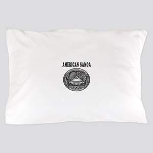 American Samoa Coat Of Arms Designs Pillow Case