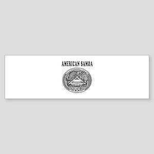 American Samoa Coat Of Arms Designs Sticker (Bumpe