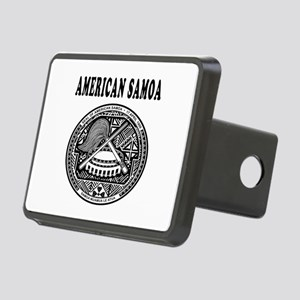 American Samoa Coat Of Arms Designs Rectangular Hi