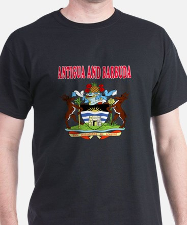 Antigua and Barbuda Coat Of Arms Designs T-Shirt
