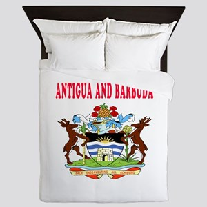 Antigua and Barbuda Coat Of Arms Designs Queen Duv