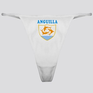 Anguilla Samoa Coat Of Arms Designs Classic Thong