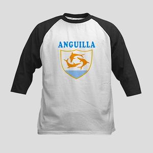Anguilla Samoa Coat Of Arms Designs Kids Baseball