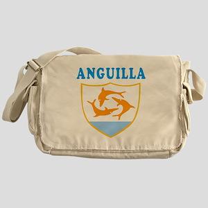 Anguilla Samoa Coat Of Arms Designs Messenger Bag
