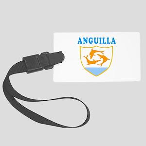 Anguilla Samoa Coat Of Arms Designs Large Luggage