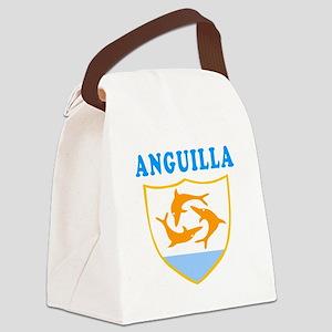 Anguilla Samoa Coat Of Arms Designs Canvas Lunch B