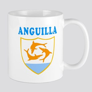 Anguilla Samoa Coat Of Arms Designs Mug
