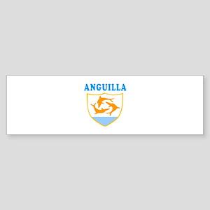 Anguilla Samoa Coat Of Arms Designs Sticker (Bumpe