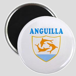 Anguilla Samoa Coat Of Arms Designs Magnet