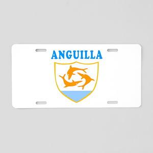 Anguilla Samoa Coat Of Arms Designs Aluminum Licen