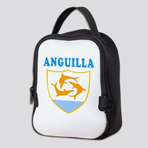 Anguilla Samoa Coat Of Arms Designs Neoprene Lunch